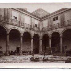 Postales: BURGOS, LERMA.- PATIO DEL PALACIO - POSTAL FOTOGRAFICA. Lote 108614351