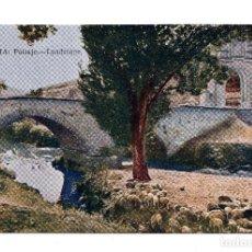 Postales: SEGOVIA.- PAISAJE. JUNTA DE TURISMO LO QUE DEBE VERSE - BLASS MADRID - MAPA. Lote 108740887
