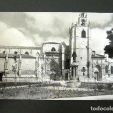 Postales: POSTAL PALENCIA. PLAZA DE LA CATEDRAL. . Lote 109237927