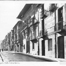 Postales: BRIVIESCA (BURGOS).- CALLE CALVO SOTELO. Lote 109435723