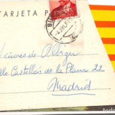 Postales: HOSTAL FUENTE DEL REY.- RUBENA (BURGOS). Lote 109436723