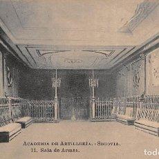 Postales: ACADEMIA DE ARTILLERÍA- SEGOVIA.- SALA DE ARMAS. Lote 109766959