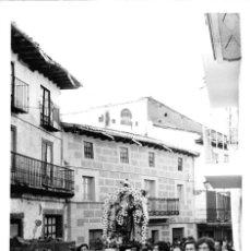 Postales: RIAZA (SEGOVIA).- FOTOGRAFÍA MEDIDAS 13 X 9 CMS. Lote 151704401