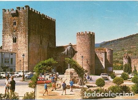 ARENAS DE SAN PEDRO - ESTATUA DE SAN PEDRO DE ALCÁNTARA Y CASTILLO CONDESTABLE ALVARO DE LUNA (Postales - España - Castilla y León Moderna (desde 1940))