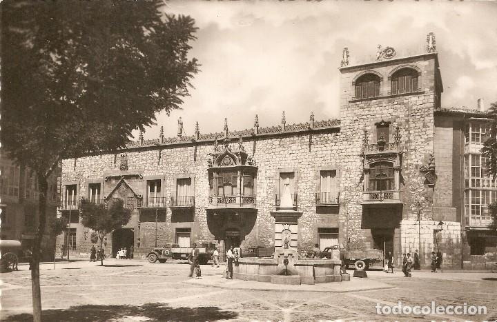 Postales: BURGOS Nº9 PLAZA DEL CORDÓN H.A.E. CIRCULADA EN 1962 - Foto 2 - 110085583