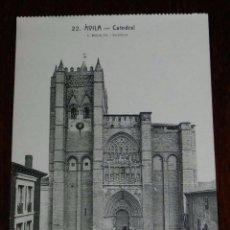Postales: POSTAL DE AVILA, N. 22, CATEDRAL, ED. L. ROISIN. FOT, NO CIRCULDA.. Lote 110111503