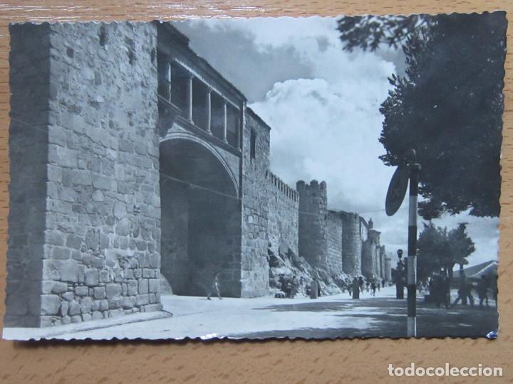 AVILA. PUERTA DEL RASTRO. (HELIOTIPIA ARTISTICA Nº56). (Postales - España - Castilla y León Moderna (desde 1940))