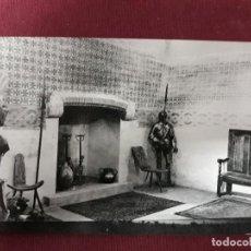 Postales: POSTAL Nº 37 CASTILLO DE COCA. ESCUELA CAPATACES FORESTALES Mº AGRICULTURA. SALA DE ARMAS. 1962. Lote 110151071