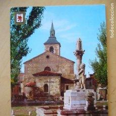 Postales: LEÓN - PLAZA DEL MERCADO DEL GRANO (ESCRITA). Lote 110170995
