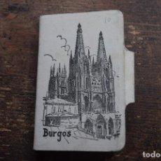 Postales: TIRA EN ACORDEON DE 12 POSTALES DE LA CATEDRAL DE BURGOS, GARCIA GARRABELLA, AÑOS 50. Lote 110186083