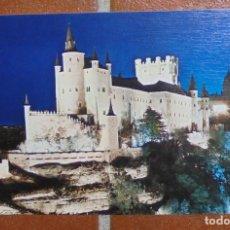 Postales: POSTAL SEGOVIA - ALCAZAR - 1983 - EDICIONES ARRIBAS - SIN CIRCULAR. Lote 110252175