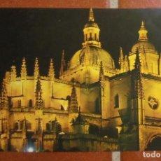 Postales: POSTAL SEGOVIA - CATEDRAL - 1983 - EDICIONES PARÍS - SIN CIRCULAR. Lote 110252271