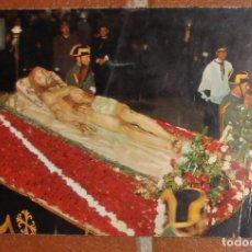 Postales: POSTAL CRISTO YACENTE - VALLADOLID - 1968 - EDICIONES BARCELONA - SIN CIRCULAR. Lote 110252487
