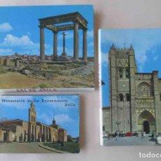 Postales: TRES BLOCS DESPLEGABLES DE POSTALES DE AVILA. Lote 111692411
