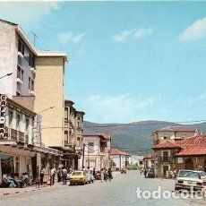 Postales: BOÑAR - CALLE CENTRAL. Lote 112081727