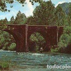Postales: BOÑAR - 360 PUENTE ROMANO. Lote 112081819