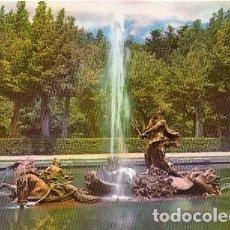 Postales: PALACIO DE LA GRANJA DE SAN ILDEFONSO - 104 FUENTE LA CARRERA DE CABALLOS. Lote 112103991