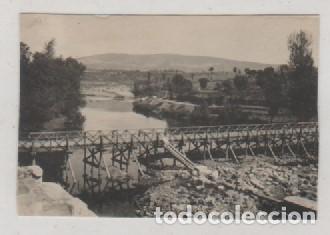 FOTOGRAFIA 8.50 X 6 CM PUENTE EN CONSTRUCCIÓN CAMINO DE VILLACASTIN EN PUEBLA DE SANABRIA. ZAMORA (Postales - España - Castilla y León Antigua (hasta 1939))