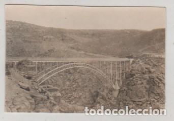 FOTOGRAFIA 8.50 X 6 CM PUENTE DEL PINO SOBRE EL DUERO VISTA DESDE VILLADEPERA ZAMORA (Postales - España - Castilla y León Antigua (hasta 1939))