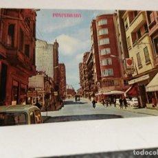 Postales: POSTAL PONFERRADA AVA. JOSE ANTONIO, ED. PARIS, SIN USO.. Lote 112759479