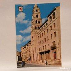 Postales: POSTAL PONFERRADA IGLESIA Y COLEGIO SAN IGNACIO, ED. PERGAMINO. SIN USO.. Lote 112759539