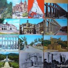 Postales: LOTE 23 POSTALES DE SEGOVIA. Lote 112771899