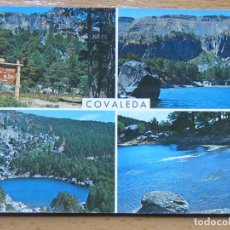 Postales: COVALEDA. SORIA. LAGUNA NEGRA. AÑO 1966.. Lote 112799687