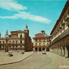 Postales: LEON PLAZA MAYOR , CONSISTORIO ANTIGUO .- Nº 23 ESCUDO DE ORO / SUBIRATS . Lote 113923619