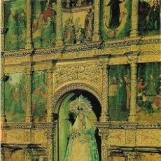 Postales: CARRION DE LOS CONDES Nº 3 RETABLO NTRA. SRA. DE BELEN .- EDICION POSTAL INTER . Lote 114296171