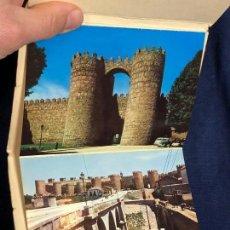 Postales: AVILA ARTISTICO Y MONUMENTAL 10 POSTALES FOTOCOLOR MURALLAS PLAZA DE SANTA TERESA. Lote 114508095