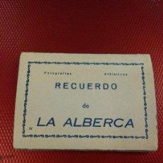 Postales: RECUERDO DE LA ALBERCA EDICIONES ARRIBAS 10 MINI POSTALES 9.50 X 7 CM. Lote 114449019