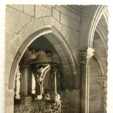 Postales: POSTAL BURGOS. MONASTERIO DE LAS HUELGAS. CIRCULADA 1959. GARCIA GARRABELLA. SEPULCROS.. Lote 114552999