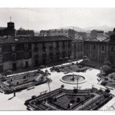 Postales: MIRANDA DE EBRO (BURGOS).- PLAZA DE CERVANTES.- EDICIONES SICILIA Nº 9.- FOTOGRÁFICA. Lote 114717059