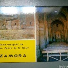 Postales: POSTAL ZAMORA IGLESIA VISIGODA DE SAN PEDRO DE LA NAVE FINER AÑO 1969. Lote 114868930