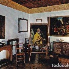 Postales: TOLEDO (CASTILLA Y LEON) 1298- MUSEO DEL GRECO, ESTUDIO, AÑO 1965 ED: ARRIBAS, ESCRITA Y SELLO (543). Lote 115621331