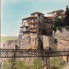 Postales: CUENCA (CASTILLA Y LEON) 6- CASAS COLGADAS Y PUENTA DE SAN PABLO ED: SICILIA, ESCRITA (542). Lote 115621691