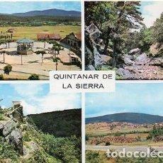 Postales: QUINTANAR DE LA SIERRA - 1 VISTAS DIVERSAS. Lote 115624939
