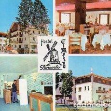 Postales: PANCORBO - 6 HOSTAL EL MOLINO - VISTAS DIVERSAS. Lote 115625023