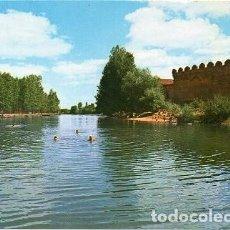 Postales: MANSILLA DE LAS MULAS - 114 MURALLAS Y RÍO ESLA. Lote 115625291