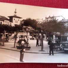 Postales: BURGOS, CIUDAD DE BRIVIESCA,PLAZA GENERALISIMO. REPORTAJES FELIX CARRASCO CIRCULADA. Lote 115711699