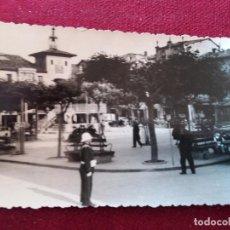 Postales: BURGOS,CIUDAD DE BRIVIESCA. PLAZA. CIRCULADA 1965 . Lote 115712387