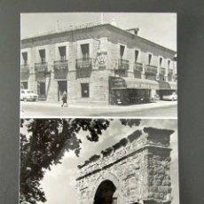 Postales: POSTAL SORIA. MEDINACELI. ARCO ROMANO. MONUMENTO NACIONAL HOSTAL DUQUE DE MEDINACELI. . Lote 115814687