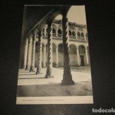 Postales: VALLADOLID PATIO DE SAN GREGORIO. Lote 116091379