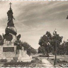 Postales: VALLADOLID, PASEO DE CAMPO GRANDE, MONUMENTO A COLÓN - EDICIONES GARCIA GARRABELLA Nº 48 - ESCRITA. Lote 116454175