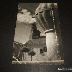 Postales: NAVAS DE ORO SEGOVIA FUENTE E IGLESIA POSTAL FOTOGRAFICA. Lote 116525947
