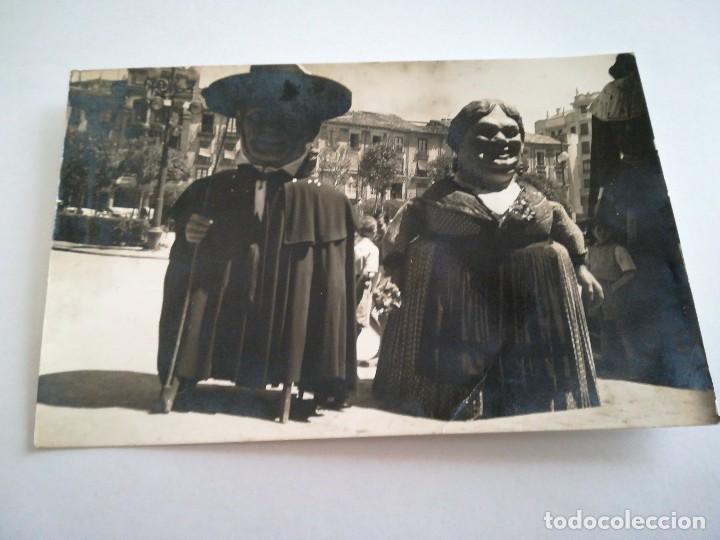 MUY ANTIGUA POSTAL: LOS GIGANTILLOS. BURGOS. (Postales - España - Castilla y León Moderna (desde 1940))