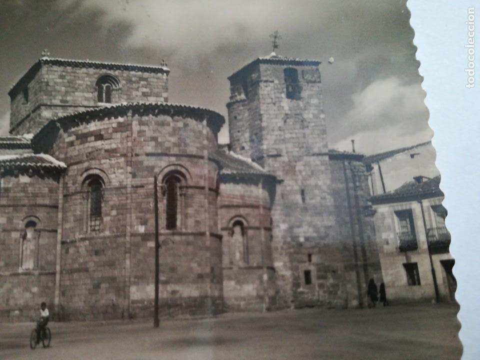 Postales: Avila. Abside y Torre de la Iglesia de San Pedro. 1951. Magnifica. - Foto 2 - 116693499