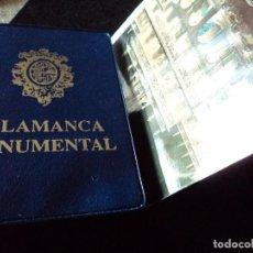 Postales: SALAMANCA MONUMENTAL - 20 POSTALES EN CARPETA. Lote 116809555
