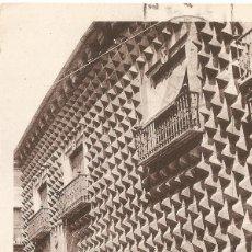 Postales: SEGOVIA Nº 10 CASA DE LOS PICOS CIRCULADA EN 1978. Lote 116903419