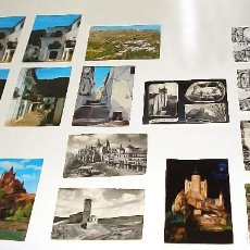 Postales: COLECCIÓN 16 POSTALES ANTIGUAS CIUDAD DE SEGOVIA - ALPUJARRA GRANADINA. Lote 115345348